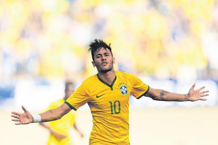 Looks like it'll be Neymar's World Cup