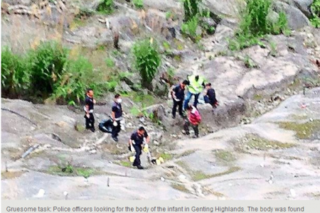 Dead baby found in ravine uncovers sex slave syndicate in Malaysia