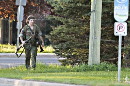 "Canadian police nab ""Rambo"" after massive manhunt"