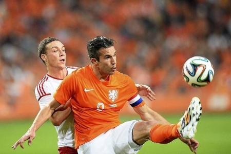 Holland will be counting on van Persie, Robben and Sneijder
