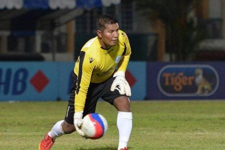 Woodlands keeper Yazid says his side will bounce back from trashing