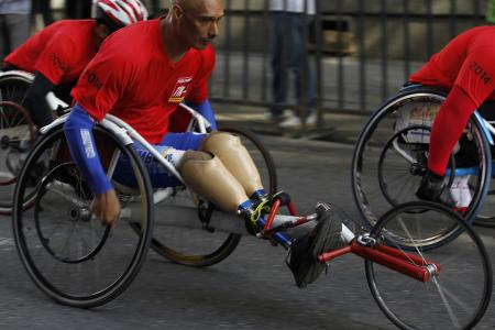 Paraplegic to open World Cup in 'Iron Man' suit