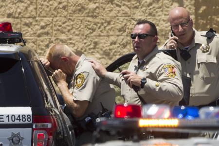 Cops among five killed at Las Vegas shooting