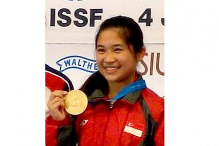 S'pore's first shooting World Cup winner