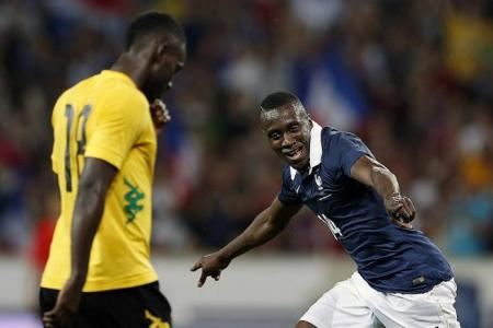 France fire in 8 goals without Ribery