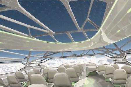 Have a taste of air travel in 2050