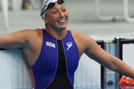 Six-time Olympic swim champion severs spine in accident