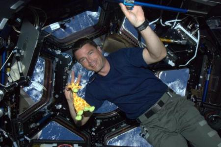 Check out the first Vine video taken in space!