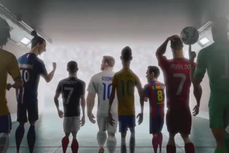 Latest mini-movie 'The Last Game': World Class footballers vs clones
