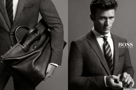 Clint Eastwood's son looking dapper in new Hugo Boss campaign