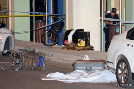 Two arrested over legless body case