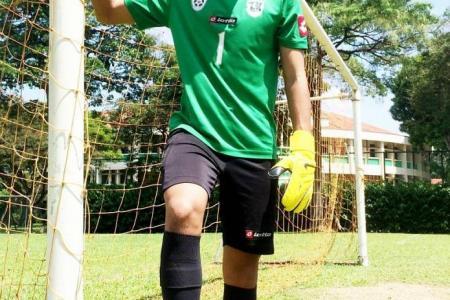 'Wolverine' goalkeeper bounces back