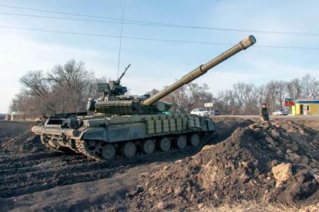 Russian forces enter east Ukraine