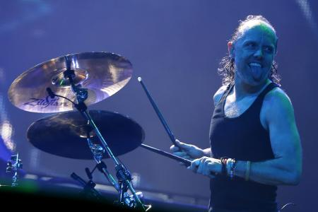Metallica drummer accepts drum-off challenge against Will Ferrell and Red Hot Chilli Peppers' Chad Smith