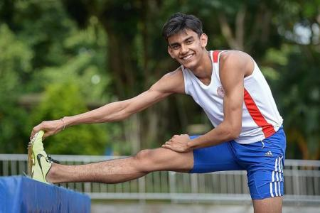 Student Zubin breaks 40-year national record