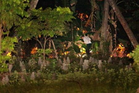 Legless body murder: Two men held, legs found in cemetery