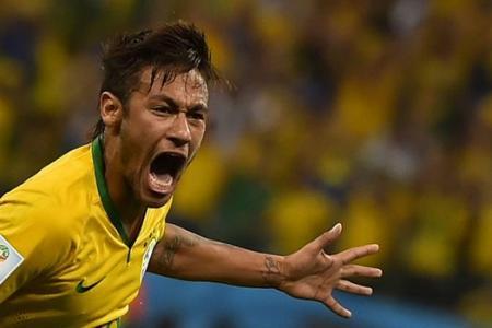 World Cup 2014: Neymar double gives jittery Brazil winning start