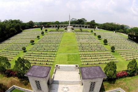 Drone's eye view: Cemeteries never looked so different