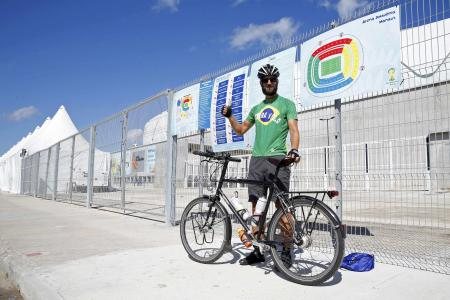 UK cyclist ditches capitalism after long Brazil ride