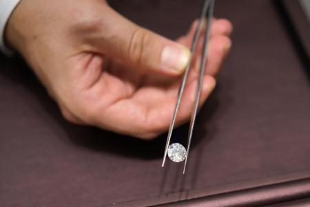 Woman loses diamonds which are later found in rubbish bin