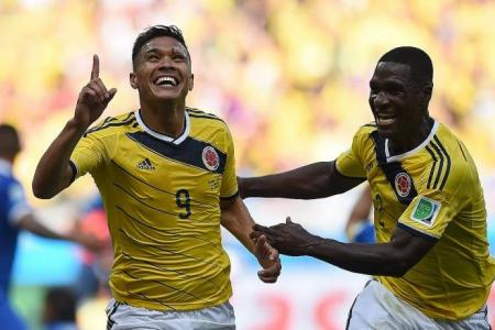 Pekerman hails Colombia's attack
