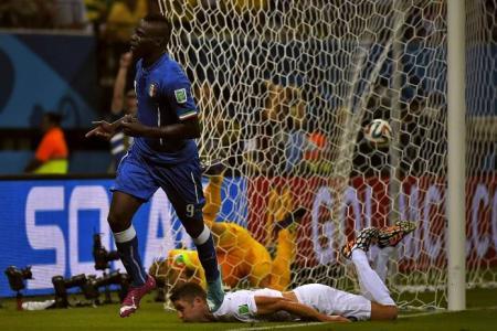 Balotelli's header downs England