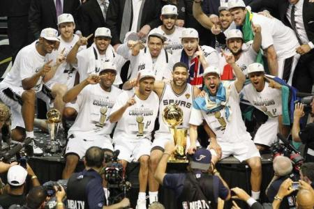NBA finals: 5th title for Spurs as Miami denied a three-peat