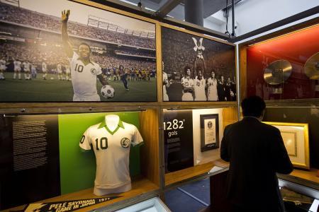Pele opens museum highlighting his career