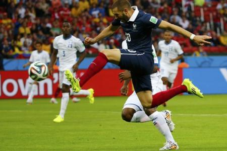 France 3 Honduras 0: The World Cup's first use of goal-line technology