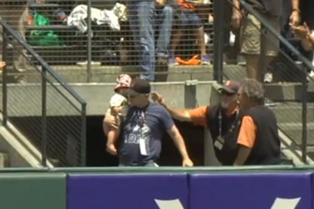 WATCH: Dad scores a home run!