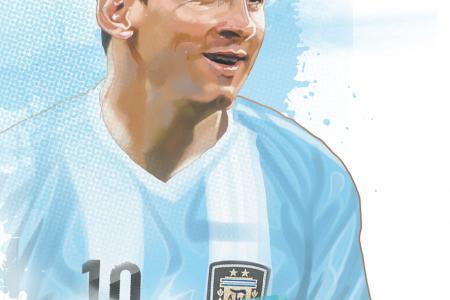 The magic of Messi