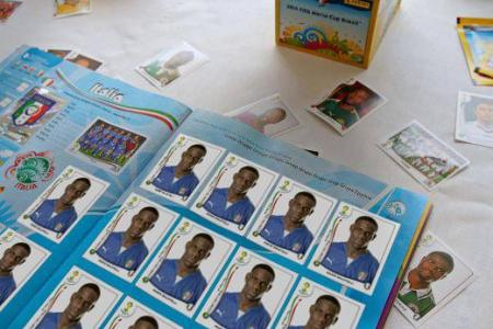 It's always me! Balotelli fills up Italy's Panini page with himself