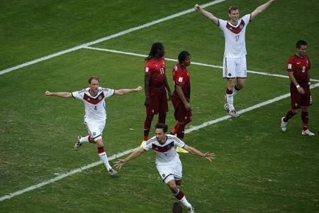 Germany thrash Ronaldo and Co. 4-0