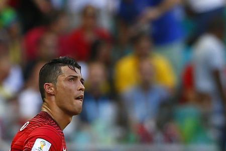 Ronaldo fails to deliver again