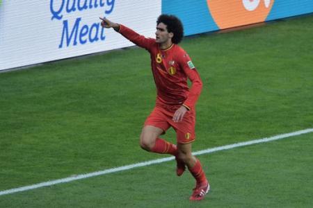 Fellaini shines for Belgium as they beat Algeria 2-1
