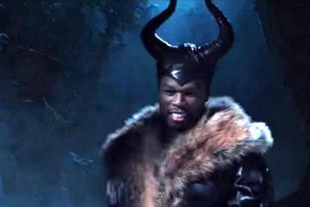 50 Cent spoofs Maleficent trailer