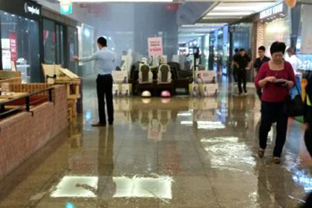 Jem mall has another incident after sprinklers go off