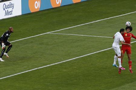 Substitutes spark Belgium to 2-1 win over Algeria