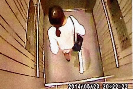 Woman peeing in Pinnacle lift caught on CCTV