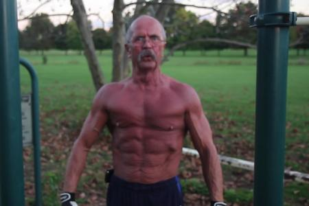 Need inspiration for IPPT? Just look at this grandpa...