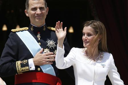 Spain in transition: Exit old kings, enter a new king