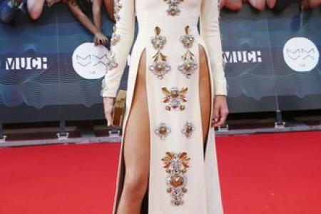 Fashionable exposure? Celebs dare to bare on the red carpet