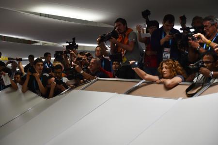 Brazil's stadium security a farce