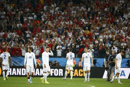 Ferdinand: Blame yourselves for exit, England