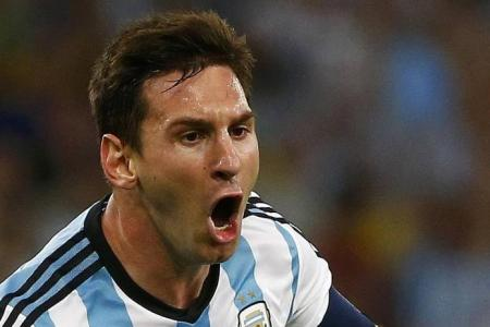 Listen Argentina, it's Messi's time
