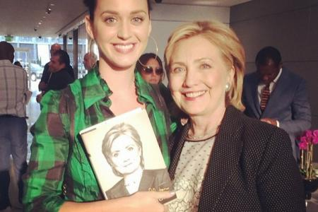Katy Perry to Hillary Clinton: 'I'll write you a theme song!'