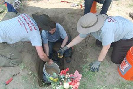 Mass graves filled with remains of immigrants found in Texas