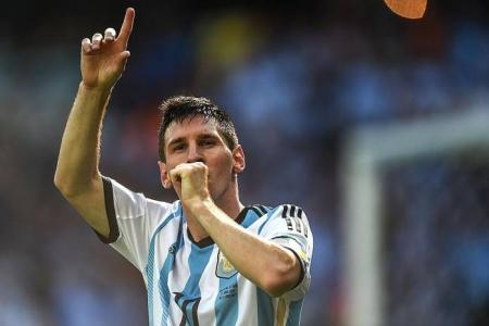 Messi's  magic secures 1-0 win over Iran