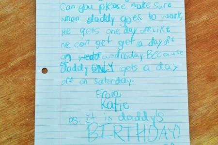 Vaycay! Girl nets dad time off with a letter to Google