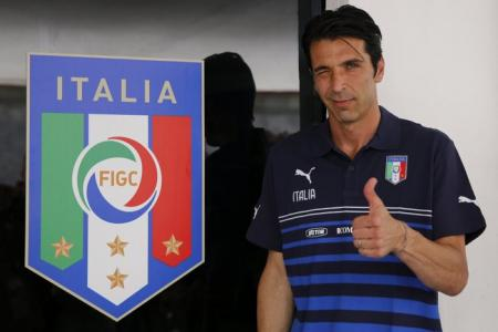 True colours! Buffon thinks chameleons Italy can get it right